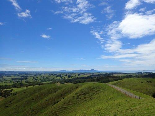 Magnifique paysage dans le Northland