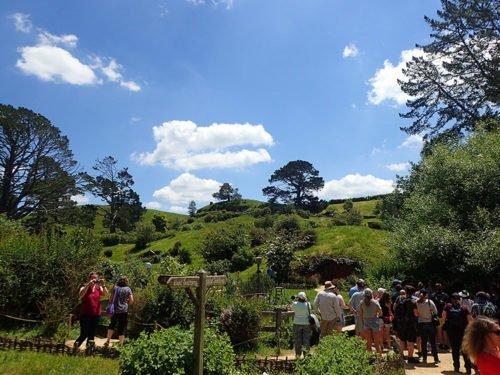 Hobbiton en Nouvelle-Zélande