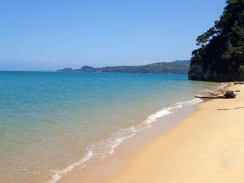 La plage de coquille Bay