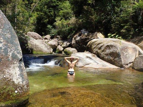 Cleopatras Pool sur l'Abel Tasman Coast Track