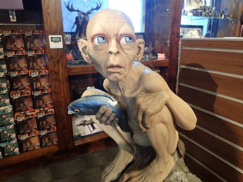 Gollum plus vrai que nature à la Weta Cave