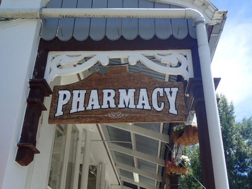 Pharmacie à Arrowtown