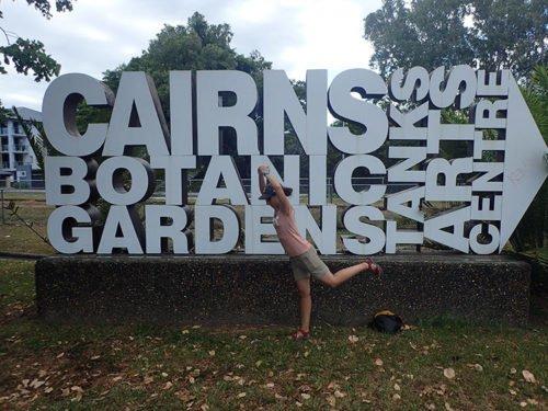 Le parc botanique de Cairns