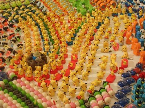 """Des Pikachu à l'exposition """"Jurassic Plastic"""""""
