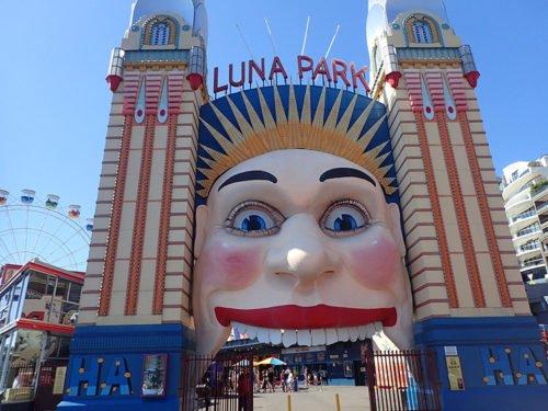 Le Luna Park de Sydney de jour