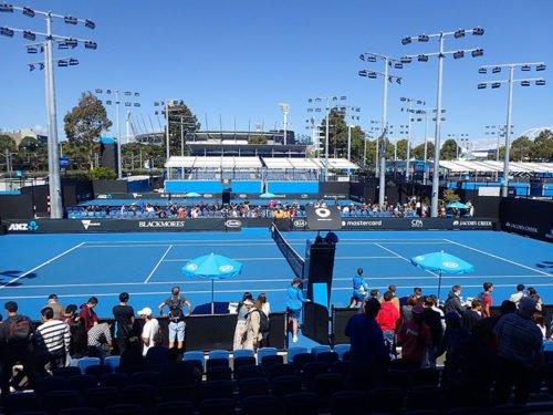 Courts de tennis de l'Open d'Australie