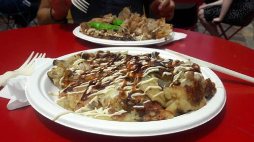 Okinomiyaki au Friday Foodie Market