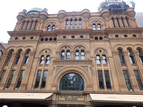 Le Queen Victoria Building à Sydney