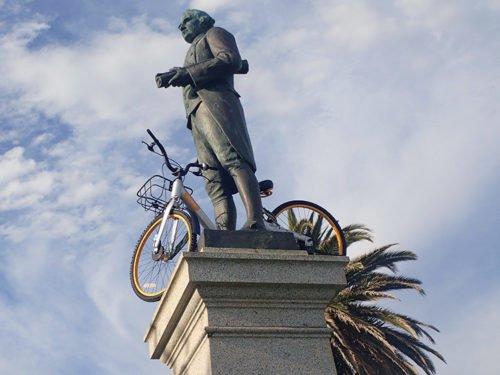 Statue du Capitaine Cook à St Kilda