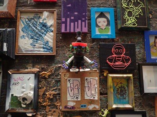 Street art à Presgrave Place