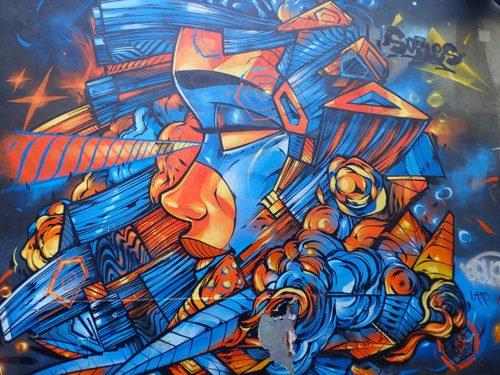 Street art à Melbourne