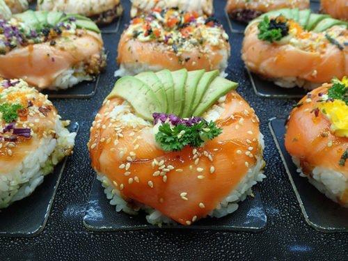 Sushi-Donut au Fish Market de Sydney
