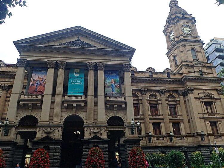 Le town hall de Melbourne