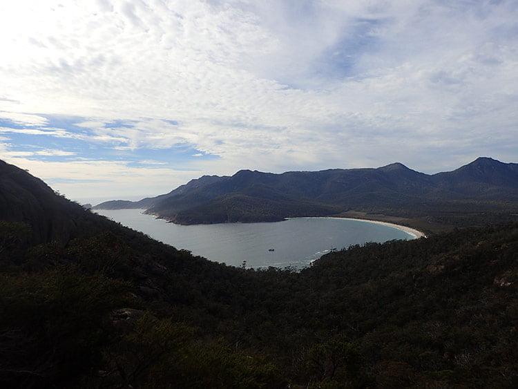 Vue sur la Wineglass Bay