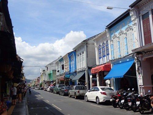 Phuket Town et ses maisons colorées d'architecture sino-portugaise