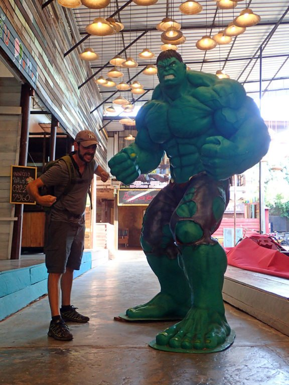 Hulk et Cédric