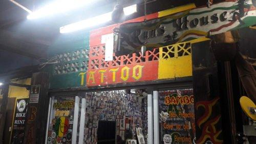 Salon de Tatouage en Thaïlande