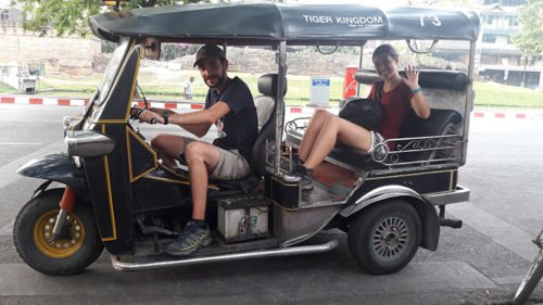 Tuk-Tuk en Thaïlande