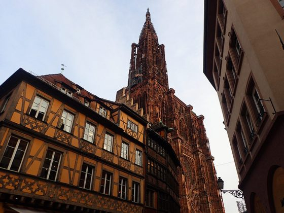 La Cathédrale de Strasbourg et la Maison Kammerzel