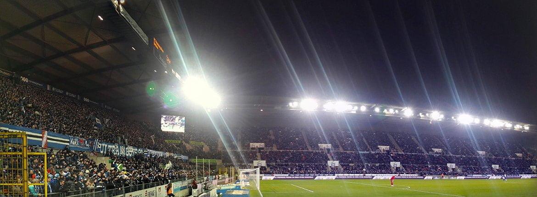 Soir de match au stade de la Meinau à Strasbourg