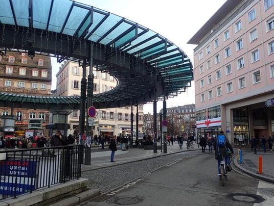 La station Homme de Fer, à Strasbourg
