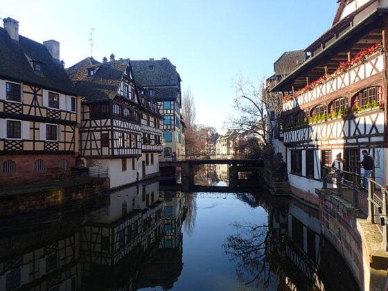 Le pittoresque quartier de la Petite France, à Strasbourg