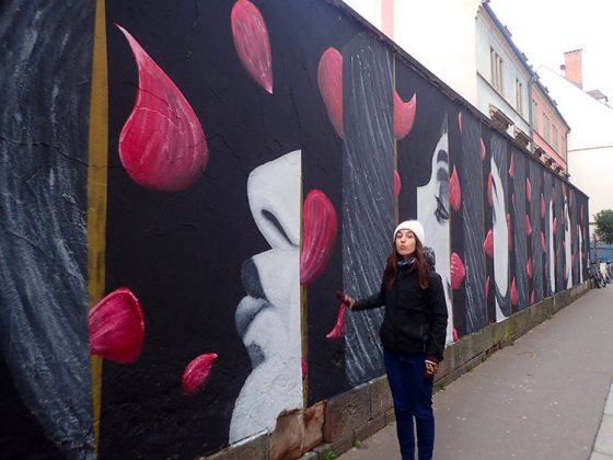 Grande fresque dans les rues de Strasbourg
