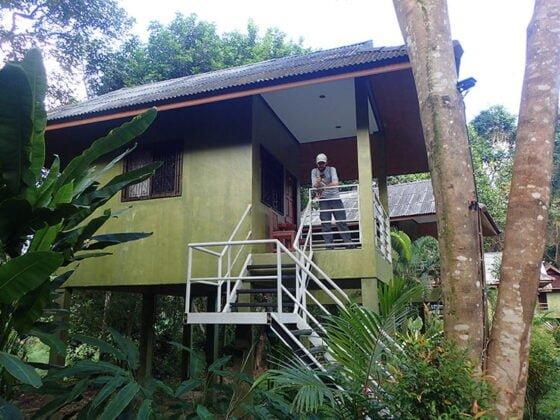 Notre hutte tout confort