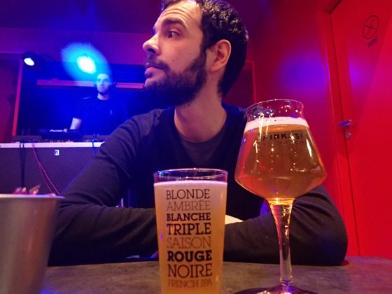 Bières locales chez Ninkasi à Lyon