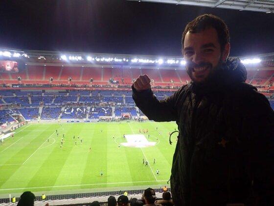 Match de foot au Groupama Stadium à Lyon