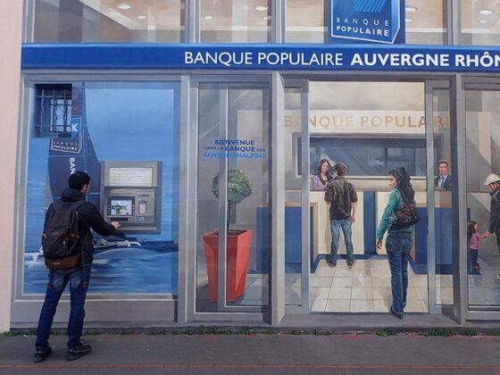 Distributeur Mur des Canuts à Lyon