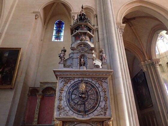 L'horloge astronomique de la primatiale cathédrale Saint-Jean-Baptiste à Lyon