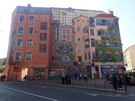 Le mur des Canuts à Lyon