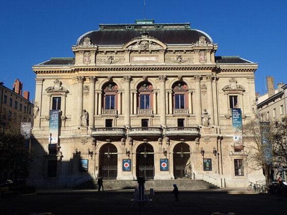 La place des Célestins et son théâtre