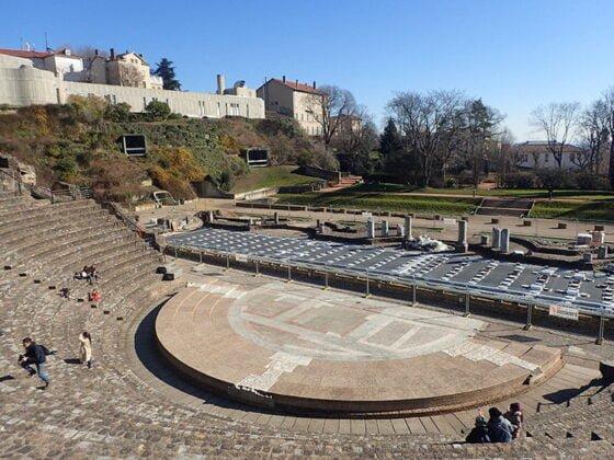 Les théâtres antiques romains de Lyon