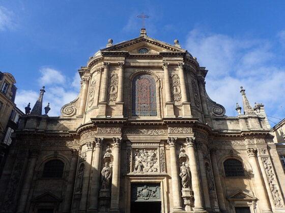 L'Église Notre-Dame, à Bordeaux