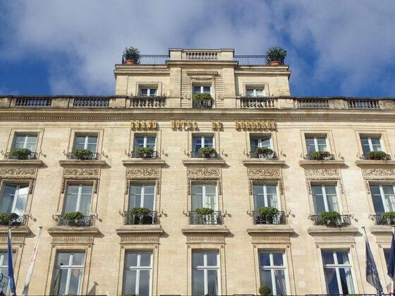 L'hôtel Intercontinental de Bordeaux
