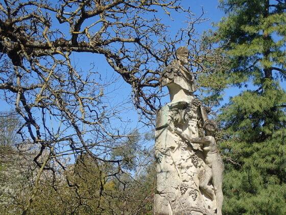 Statue au Jardin Public de Bordeaux