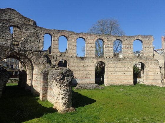 Le palais Gallien, l'un des plus anciens vestiges de la Rome