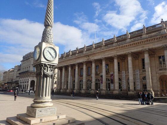 La place de la Comédie et le Grand Théâtre