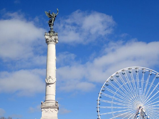 Le monument aux Girondins