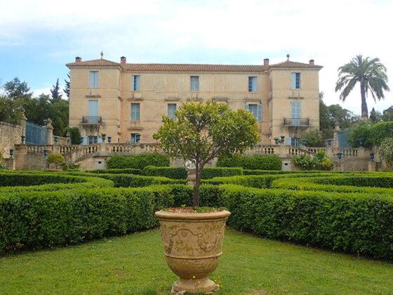Le jardin à la française du Château de Flaugergues