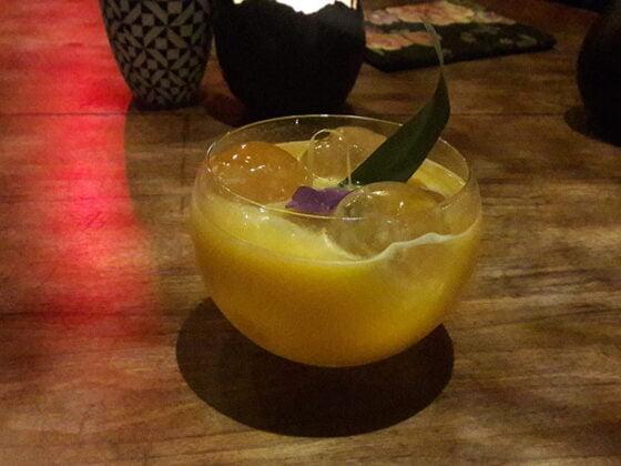 Un des cocktails du Parfum