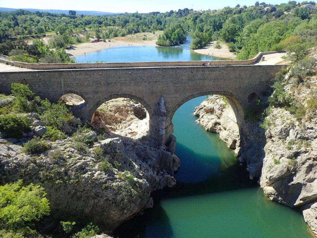 Le pont du diable de Saint-Guilhem-le-Désert