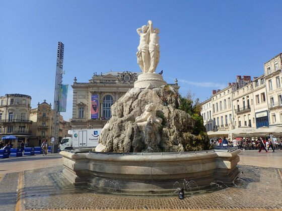 La Fontaine des 3 Grâces à Montpellier