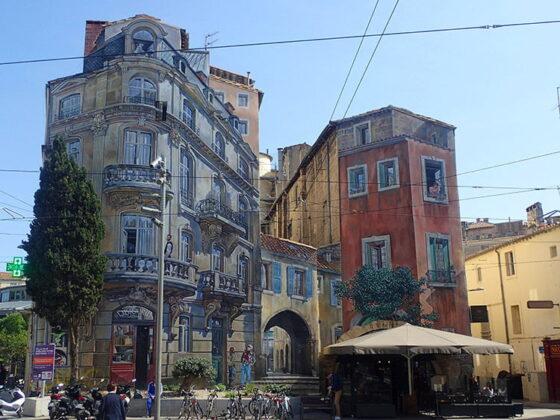 Murs peints à Montpellier