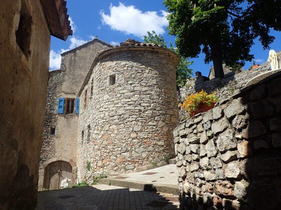 Les ruelles du hameau de Navacelles