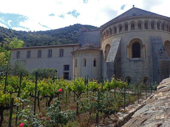 L'abbaye de Gellone, à Saint-Guilhem-le-Désert