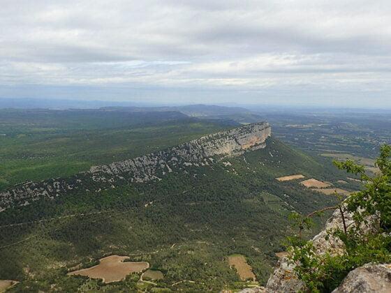 La vue depuis le Pic Saint-Loup
