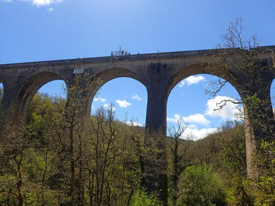 Le viaduc de Sainte-Eulalie-de-Cernon